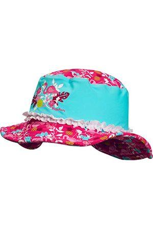 Playshoes Flickor mössa UV-skydd solhatt, badmössa flamingo