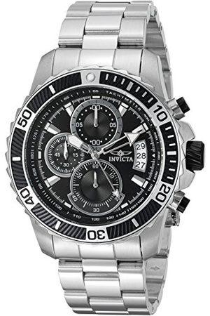 INVICTA Herr analog kvartsklocka med rostfritt stålrem 22412