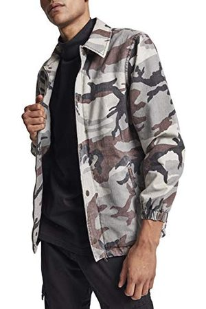 Urban classics Herr Camo Cotton Coach Jacket jacka
