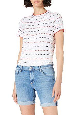 Cross Kvinna Jeans - Damer Genna jeansshorts