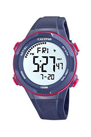 Calypso Herr digital kvartsklocka med plastarmband K5780/4