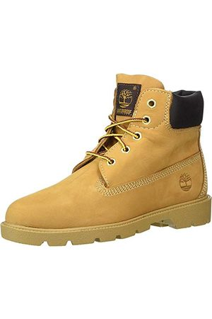 Timberland Unisex barn 15 cm klassiska (Youth) stövlar, vetenubucket - 32 EU