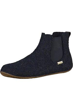 Living Kitzbühel Pojkar Chelsea boots enfärgade höga tofflor, nattblå 590-35 EU