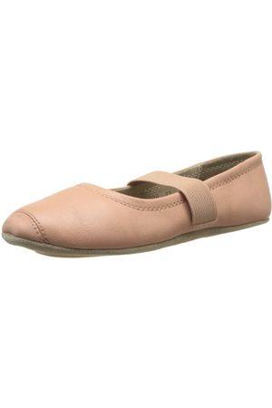 Bisgaard Flickor 12313999 stängd tå balett lägenheter, Pink 94 Nude6.5 UK Child