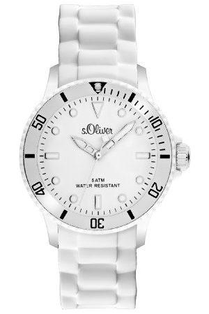 s.Oliver Unisex armbandsur analog silikon SO-2291-PQ