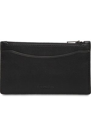 Coach Zip Card Case Smooth Leather Mens Wallets Accessories Wallets Classic Wallets