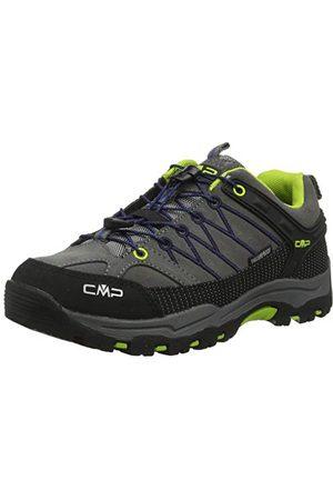 CMP Unisex barn barn rigel låga skor wp vandrings- och vandringsskor, B Blue Rose 80 bn34 EU