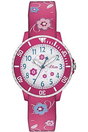 s.Oliver Time armbandsur för flickor En Storlek