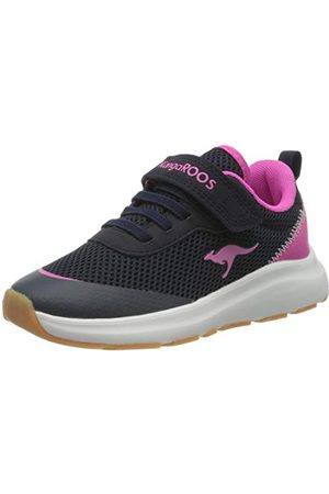 KangaROOS Unisex barn Kb-Sure Ev sneaker, Dark Navy Daisy Pink 4204-28 EU