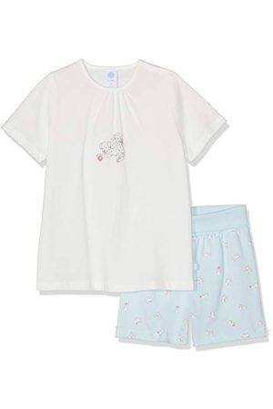 Sanetta Baby-flicka pyjamas shorts tvådelad sovdräkt
