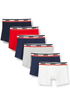 Levi's Herrsportkläder logo herrtrosor (6-pack) boxershorts