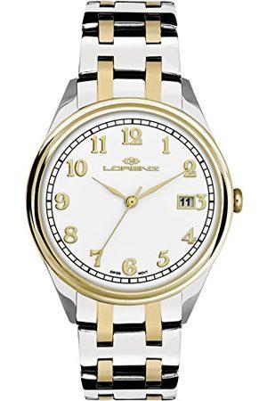 Stadlbauer Lorenz herr analog kvartsklocka med rostfritt stål armband 027158AA