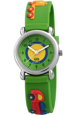 Excellanc Unisex-armbandsur analog kvarts gummi 407026000036