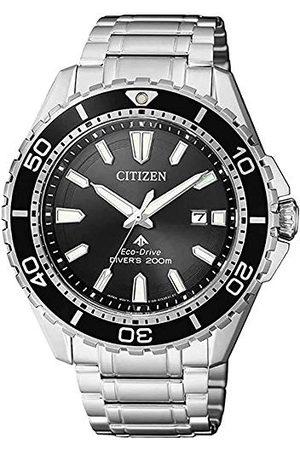Citizen Män analog solklocka med rostfritt stål armband BN0190-82E