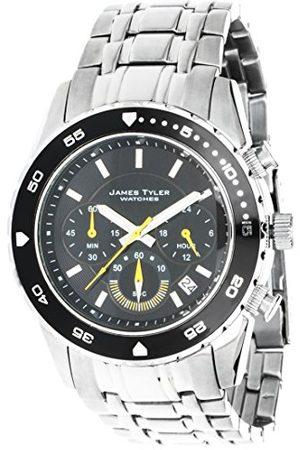 James Tyler Herrarmbandsur kronograf kvarts rostfritt stål, JT704-2