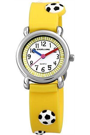 Excellanc Unisex-armbandsur analog kvarts gummi 40704500022