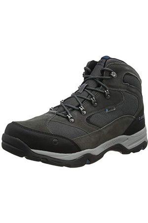 Hi-Tec Herr storm Wp Wide Walking-sko, Kolgrå Majolica blå50 EU