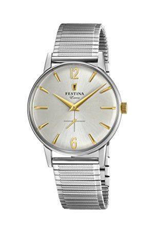 Festina Herr analog kvartsklocka med rostfritt stål armband F20250/2