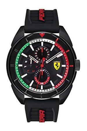 Scuderia Ferrari Herrar multi urtavla kvarts klocka med silikonarmband 830577