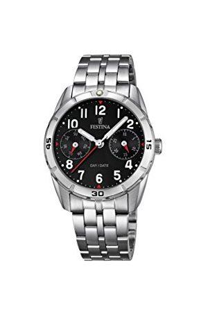 Festina Unisex analog kvartsklocka med rostfritt stål armband F16908/3