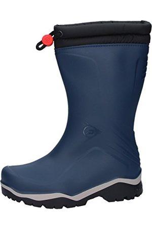 Dunlop Blizzard fodrad herr gummistövel, (Blue/Grey/Black), 31 EU