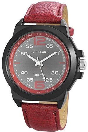 Excellanc Herrarmbandsur XL analog kvarts olika material 295071600168
