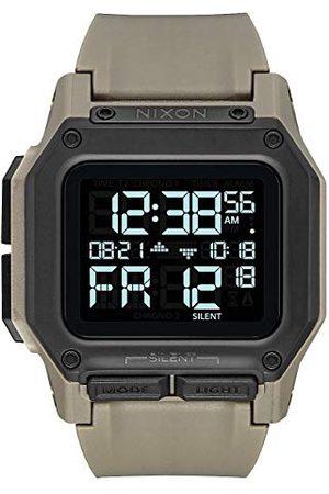 Nixon Unisex vuxen digital klocka med polykarbonat armband A1180-2711-00