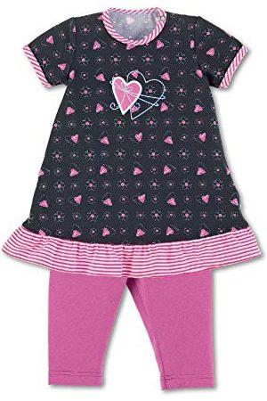 Sterntaler Baby-flickklänning med leggings