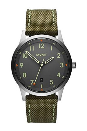 MVMT Herr analog kvartsklocka med segelduk armband 2800014-D