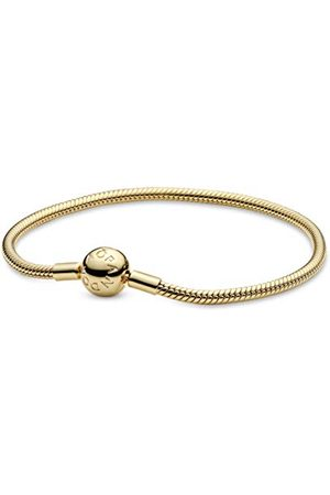 PANDORA Moments 18k guldpläterat legering orm länk armband e Silver, colore: , cod. 568748C00-17