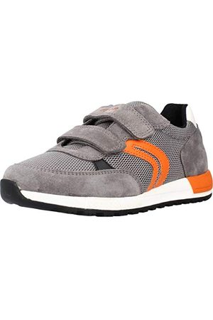 Geox Pojkar J Alben Boy A Sneaker, orange39 EU