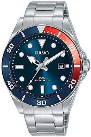 Pulsar Kvartsklocka med rostfritt stål armband 8431242963600