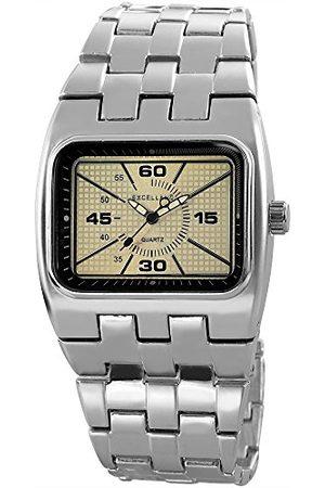Excellanc Herr analog kvartsklocka med olika material armband 280122500015