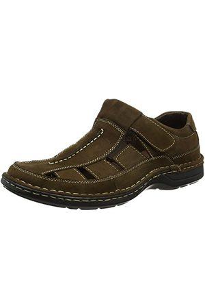 Padders Herr Breaker sandaler, mörkbrun 87-41 EU X-Weit