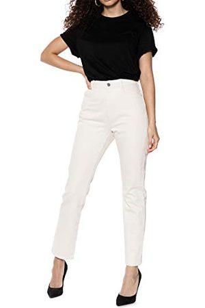 Ivy Revel DE Dam denim hög midja raka jeans