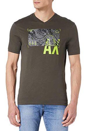 Armani Man Kortärmade - Herr bomullströja Truffle t-shirt