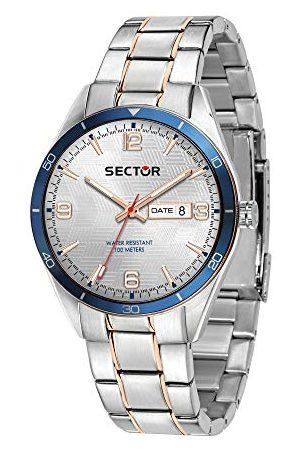 Sector No Limits Herr analog kvartsklocka med rostfritt stål armband R3253516002