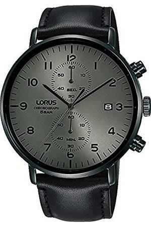 Lorus Herr analog kvartsklocka med äkta läderarmband RW405AX9