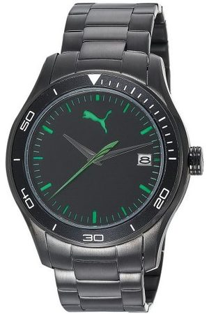 PUMA Time herr kvartsklocka åka 3HD metall- L PU102571004 med metallrem