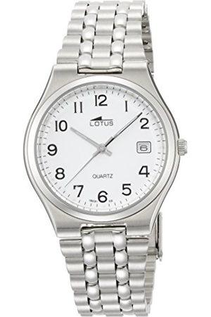 Lotus Herr analog kvartsklocka med rostfritt stål armband 15031/2