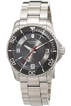 Victorinox Män analog automatisk klocka med rostfritt stål armband 241708