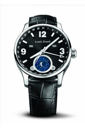 Louis Erard Mäns automatiska klocka 48223AA01.BDC52 med läderrem