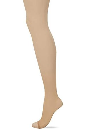 Pretty Polly Dam naturliga 8d Open Toe tights strumpbyxor, 7, (Bthr Barely There), medium (tillverkarstorlek: ML) (3-pack)