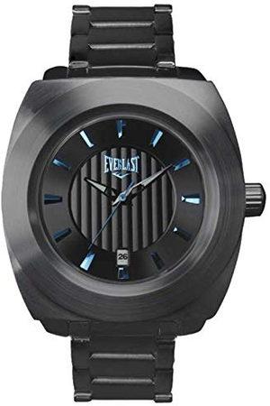 Everlast Unisex vuxna analog kvartsklocka med rostfritt stål armband EVER33–201–003