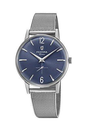 Festina Herr analog kvartsklocka med rostfritt stål armband F20252/3