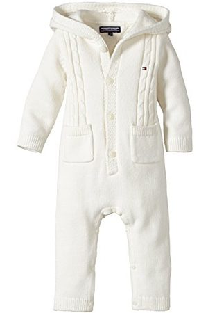 Tommy Hilfiger Baby snygg stickad Coverall L/S Footies