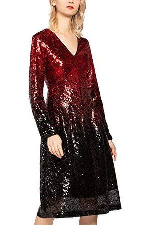 Apart APART Mode dam paljetter doppfärgad klänning festklänning