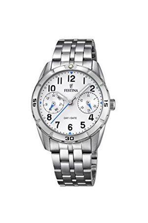 Festina Unisex analog kvartsklocka med rostfritt stål armband F16908/1