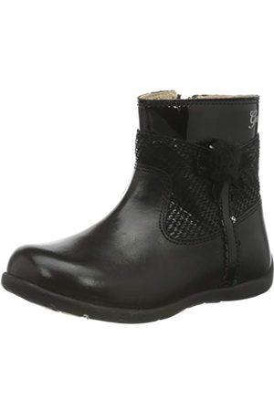 Geox Baby-flicka B Kaytan A Ankle Boot, svart23 EU