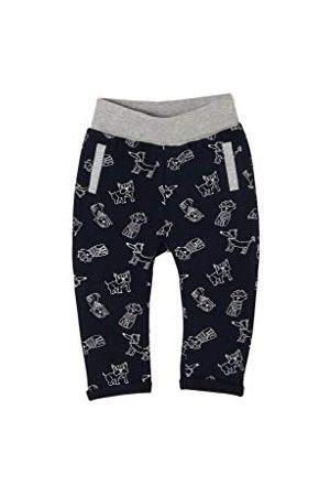 s.Oliver Junior baby pojkar 405.10.102.18.183.2057994 fritidsbyxor, Dark Blue AOP, 92